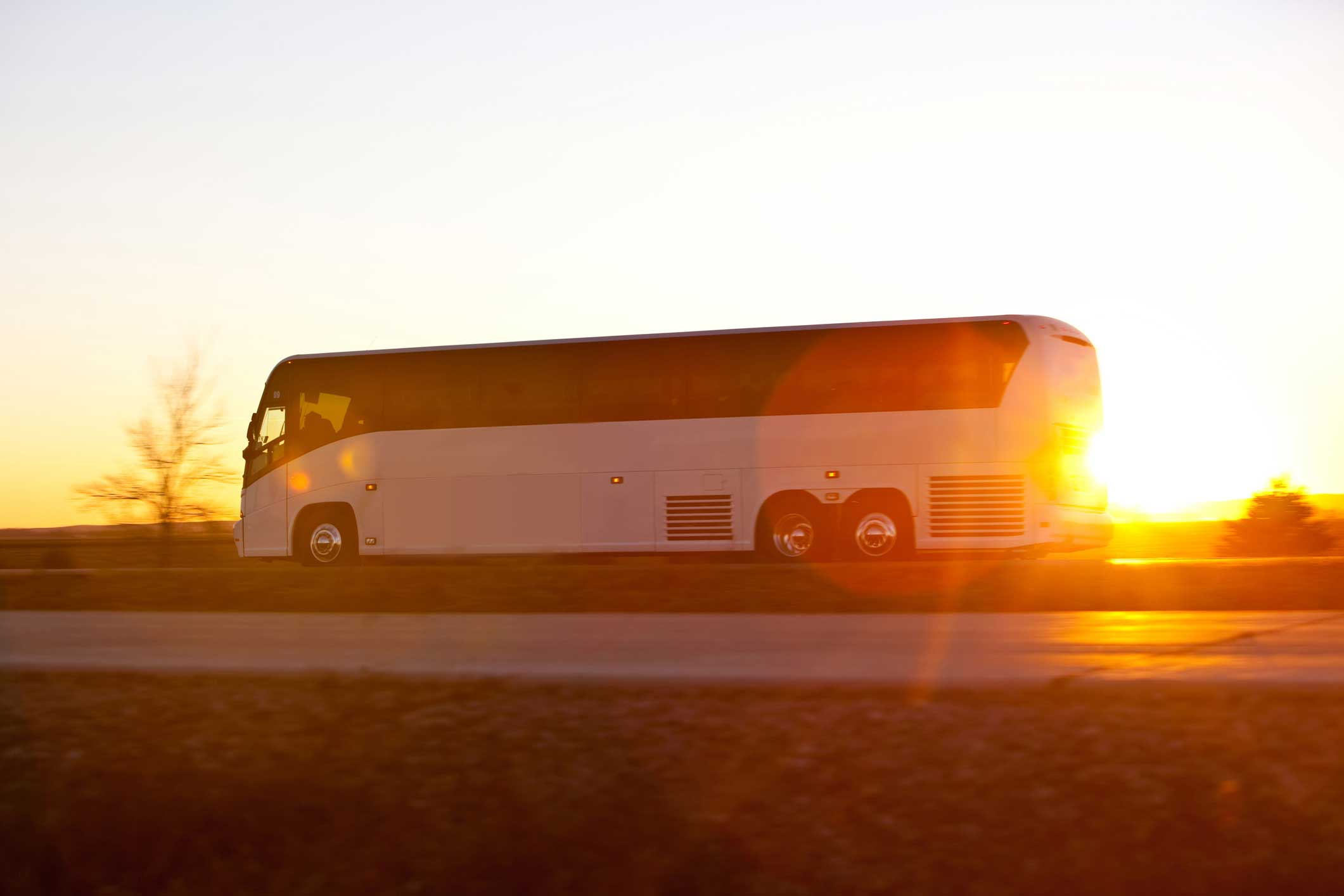Large bus rental is a service for large groups in Cleveland, Ohio