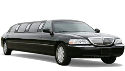 Limousine that can be reserved for limousine service, used for wedding transportation, prom, and special occasions