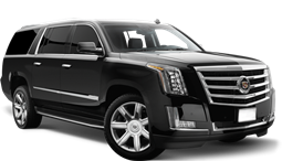 Luxury SUV that can be reserved for car service and airport transportation